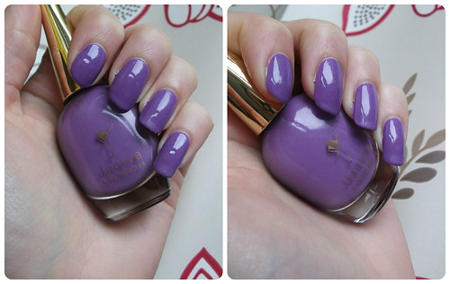 NOTD Jacava London Blueberry Muffin Top Coat