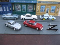 Alfa Romeo Giulietta & Lancia Appia Zagato collection