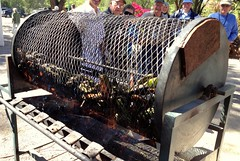 Roasting New Mexico Hatch Chile