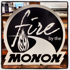 Fire by the Monon Signage #signshop #monon #indianapolis