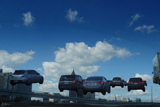 Atlanta's flying car lane