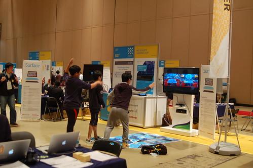 한국 마이크로소프트 체험존