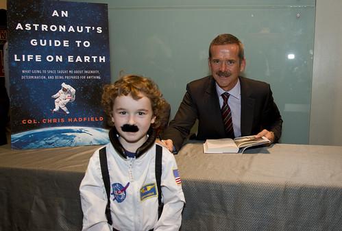 We met astronaut Chris Hadfield
