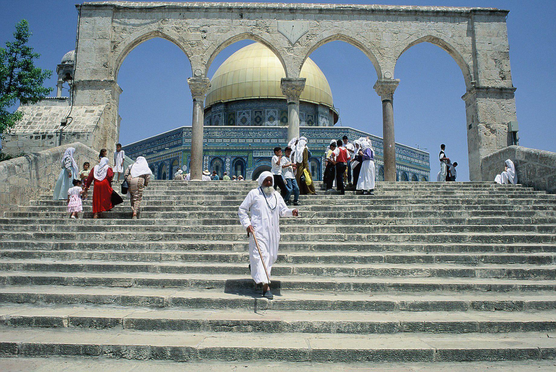 14. La vieja ciudad de Jerusalén. Autor, Mirari Erdoiza