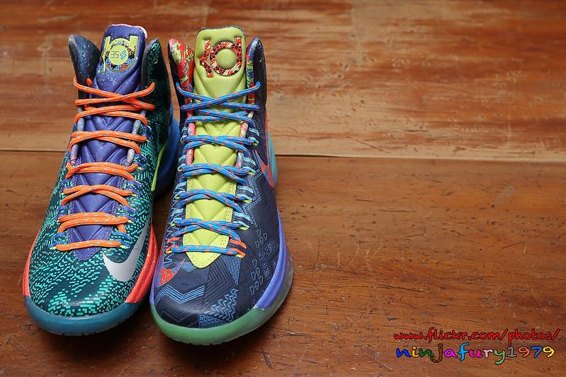 new arrival 83758 e1515 KD V 5 這雙鞋子是Kevin Durant 在2012-2013 NBA球季所代言的鞋款由華裔設計師同時也是NIKE 籃球鞋設計總監Leo  Chang 所設計