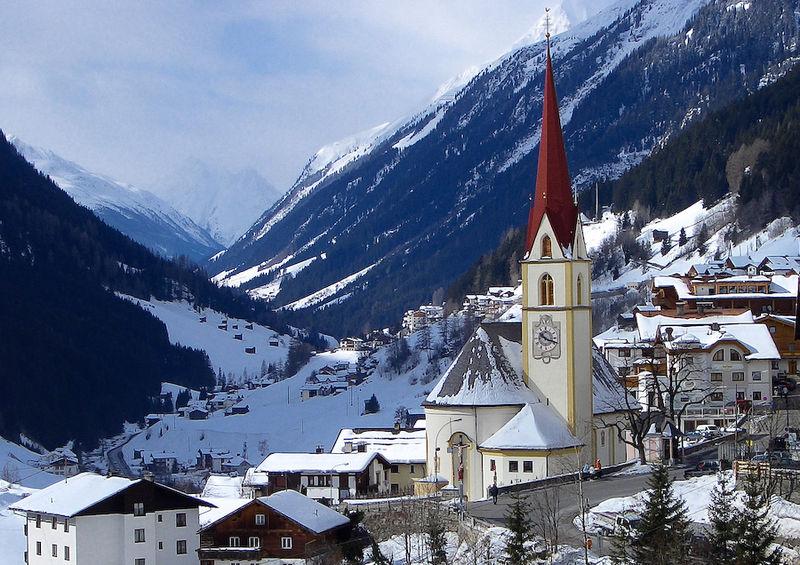 2. Iglesia en Kappl, Tirol. Autor, Ceving