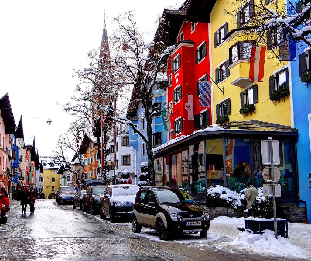 3. Calle típica de Kitzbühl. Autor, Polybert49