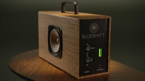 Blueshift Helium – портативная акустическая система с суперконденсаторной батареей