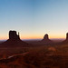 monument valley sunrise by alexhophotography