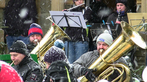 Musicians at a German Christmas Market, photo courtesy of Will Wellman