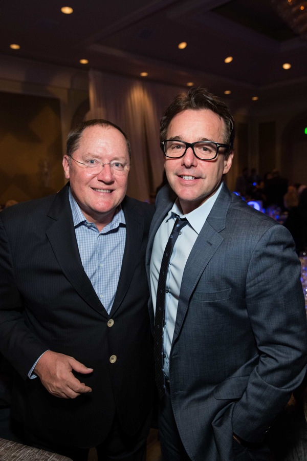 John Lasseter, Chris Columbus