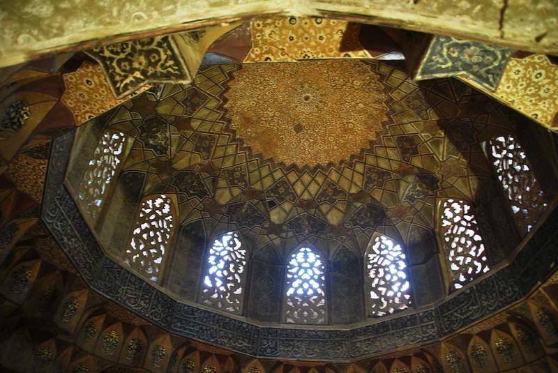 216 techo de la mezquita de la Plaza Central de Kerman (13)