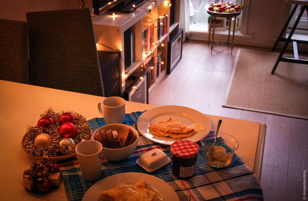Amsterdam, Winter Holiday Breakfast
