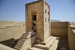 Altar zoroástrico en Naqsh-e Rostam (Irán)