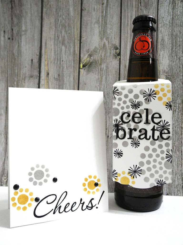New Year's Card and Bottle Tag