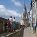 View down to the Tour de la Lanterne, La Rochelle ©Andy Hay