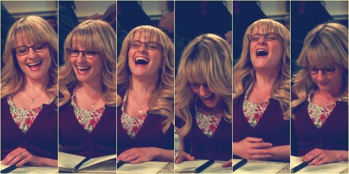 La risa de Bernadette
