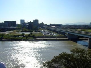 多摩川浅間神社・展望