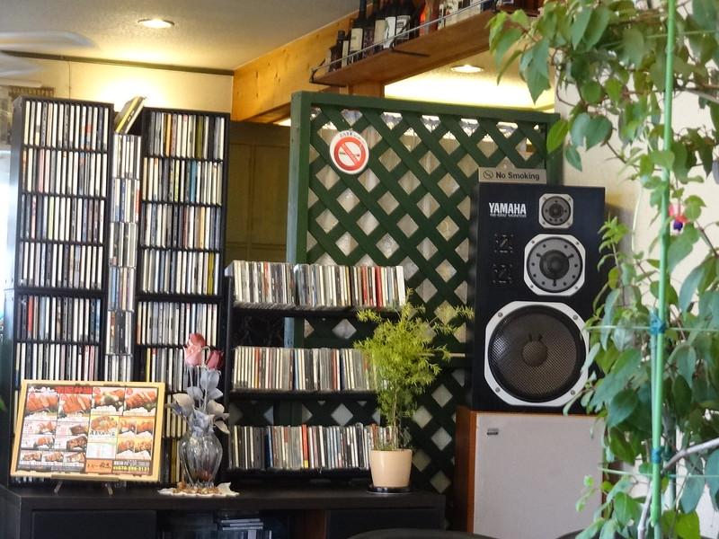 大量のCDコレクション
