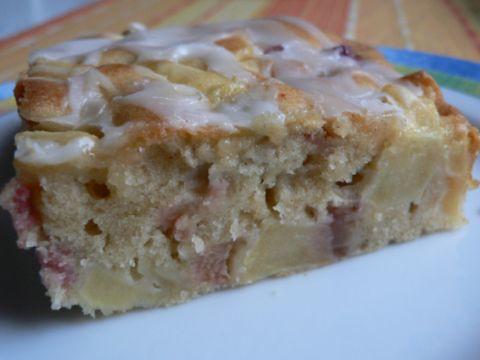Rhabarber-Apfelkuchen
