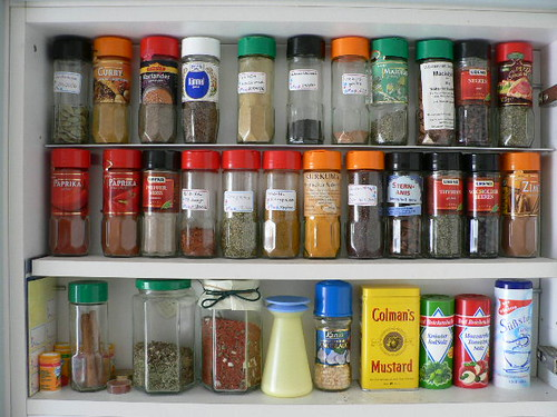 My spice shelf/drawer 003