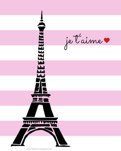 Paris Valentine's Day Free Printable