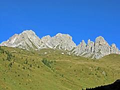 Foto per 23. Le Crode dei Longerin dalla Val di Vissada.