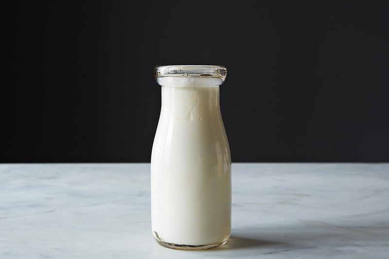 how to make buttermilk with skim milk and vinegar