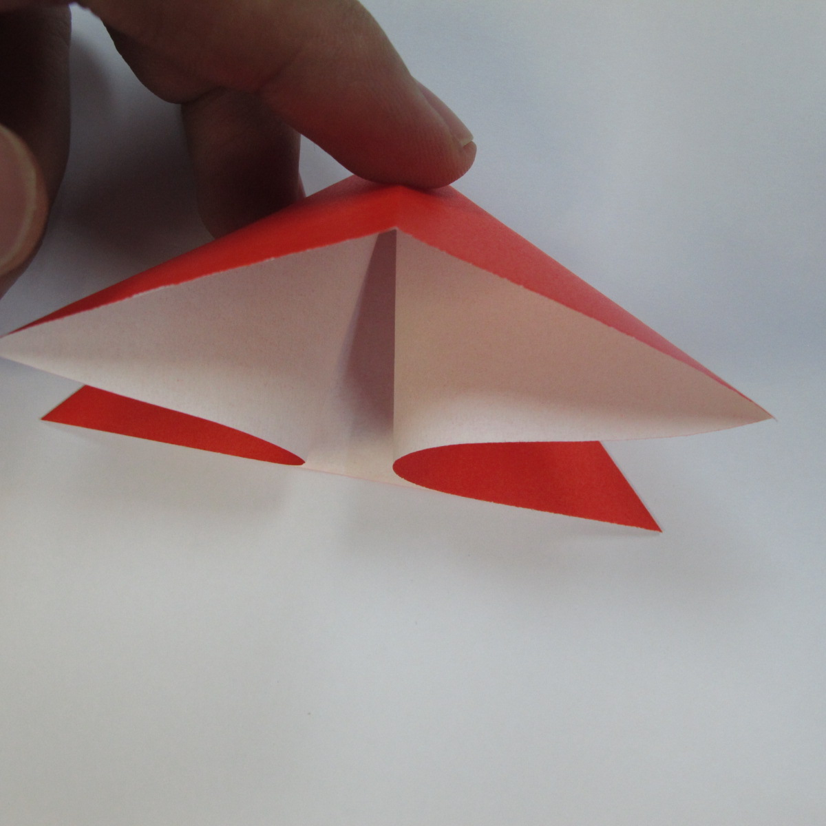 วิธีการพับกระดาษเป็นดาวหกแฉกแบบโมดูล่า 003