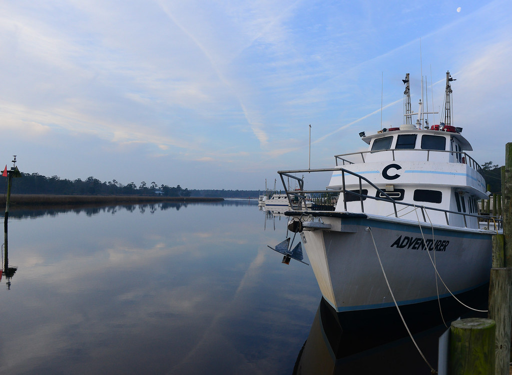 Goat island south carolina around guides for Little river fishing fleet