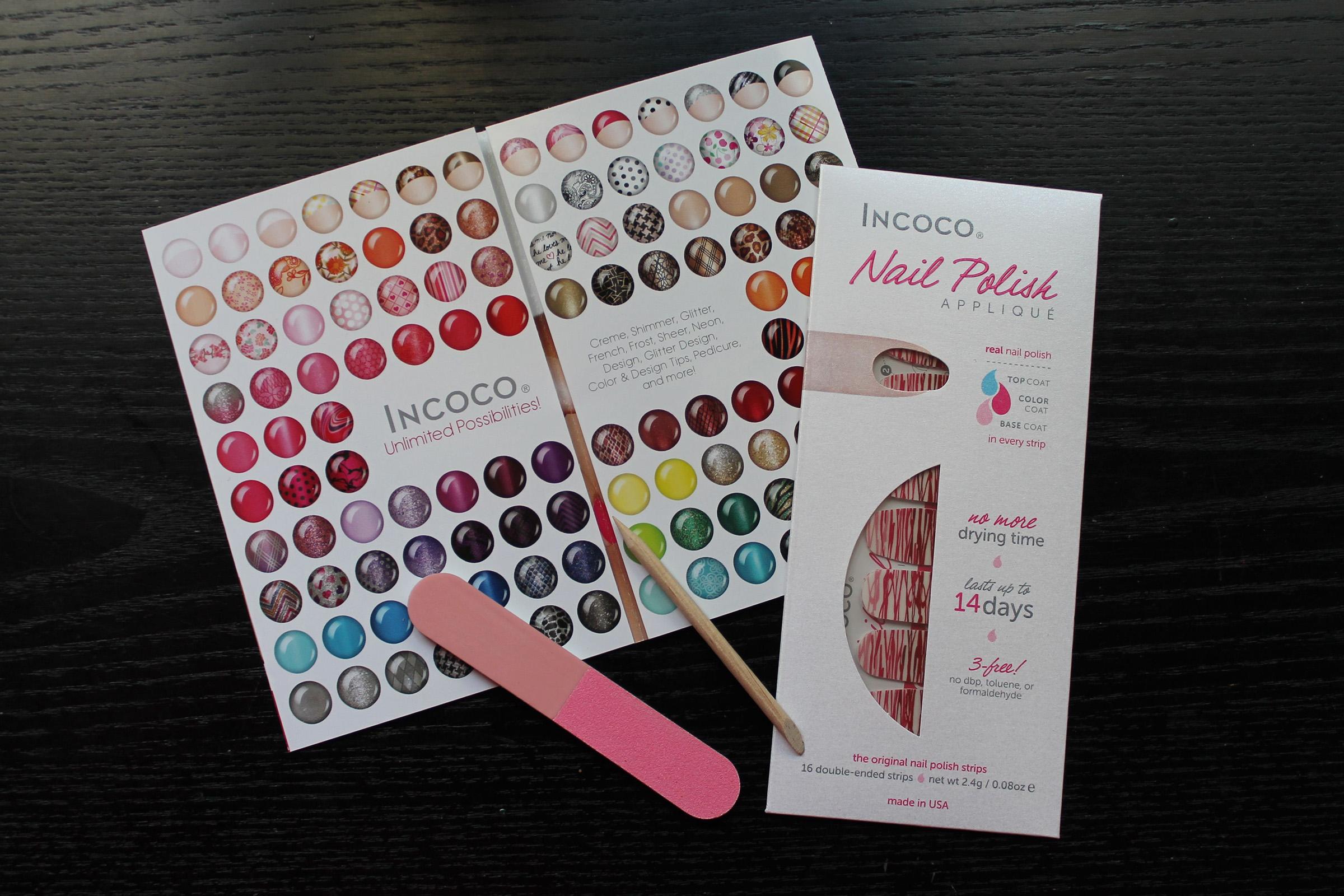 Incoco Nail Polish Appliqués