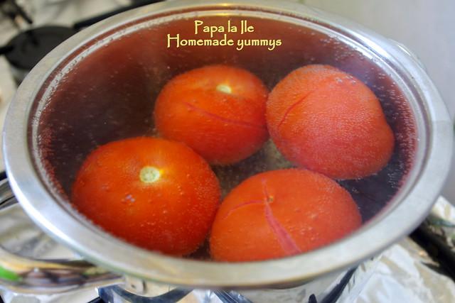 Paste proaspete cu rosii usturoi si busuioc (4)