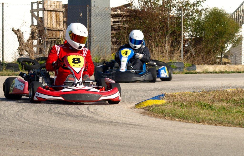 Felipe Soriano (8) y Juanjo Pardo (4), eternos rivales.