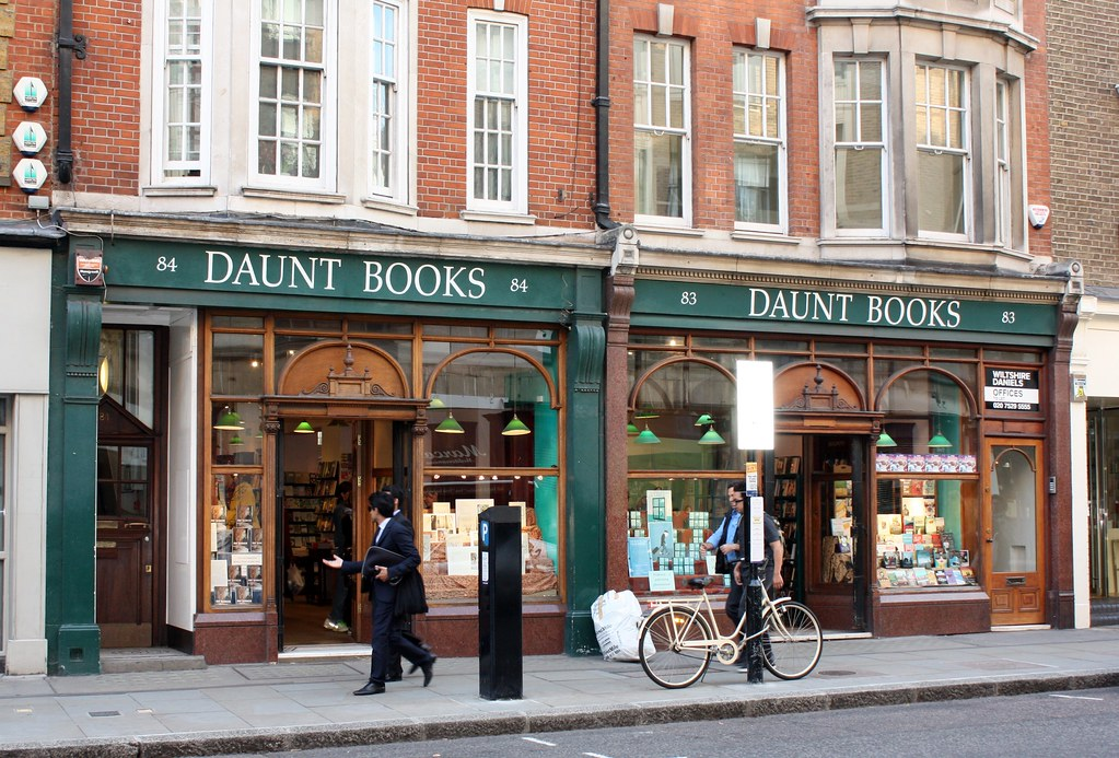 London:Daunt Books Marylebone
