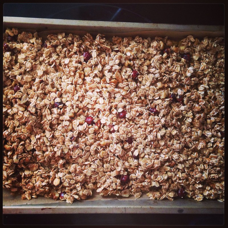 That's right. It's granola o'clock