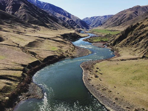 Gorgeous views from the weekend's 24.5-mile Hells Canyon Run