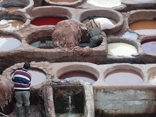 Tanneries is hard work