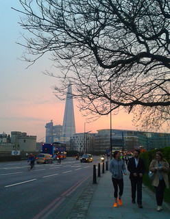 The Shard from Tower Hill
