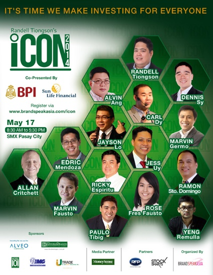 Randell Tiongson iCON 2014 Speakers