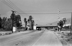 MP 563.1 Pennsylvania Av grade crossing and I-10 overpass, Beaumont