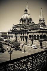 Catedral de Guadalajara desde el balcón