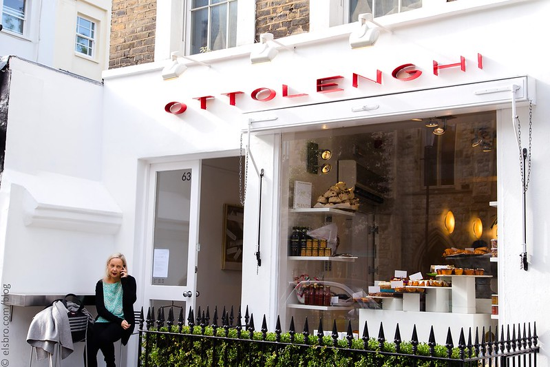 Lunch at Ottolenghi, Notting Hill