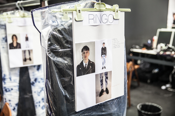Model Ringo's look at Diesel Fall Winter 2014