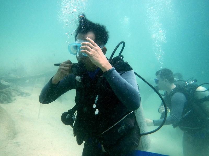 13718682343 ff52951d54 c PADI Discover Scuba Diving Di Pulau Mamutik, Sabah