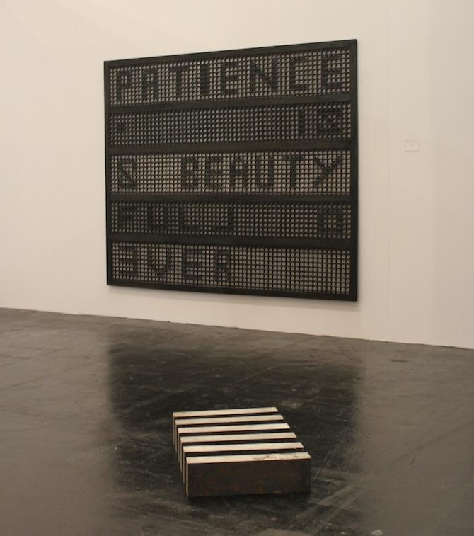 Susan Hefuna at booth Galerie Anne de Villepoix Paris