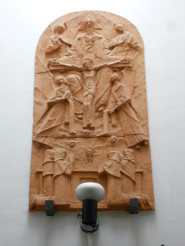 Tempietto Mariano, Convento delle Ancelle della SS Trinità, Rovigo, Virgilio Milani