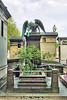 A Grave In Montparnasse Cemetery - Paris. by Jim Linwood