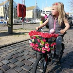 The Lulu, aged 6, exploring her city #Copenhagen #thelulu