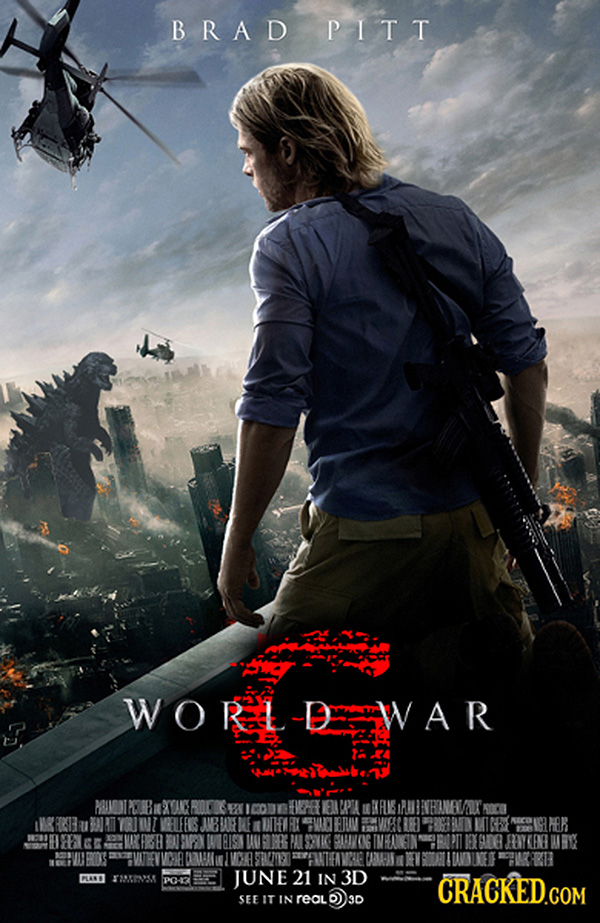 Godzilla em Guerra Mundial Z