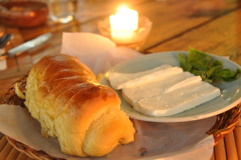 Camote Bread at Kesong Puti